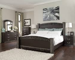 king poster bedroom set ashley vachel bedroom collection