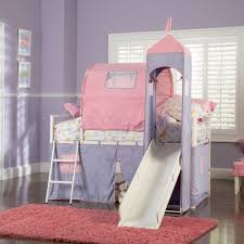 Bed Tents For Twin Size Bed by Powell Princess Castle Twin Size Tent Bunk Bed W Slide Beyond