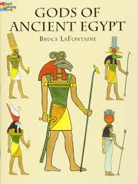 gods of ancient egypt dover classic stories coloring book bruce