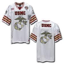 amazon com rapiddominance usmc football jersey camouflage