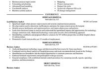 business analyst resume sample summary great business analyst