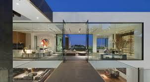 wonderful house design inspiration with large glass window white