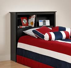 Red White And Blue Bedroom Ideas Freestanding Headboard Adds Modular Style For Every Single Bedding