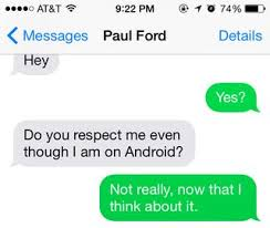 Iphone Text Memes Best Collection - green bubbles how apple quietly gets iphone users to hate android
