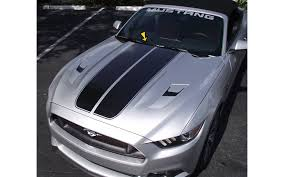 stripes on mustang graphic express 2015 17 mustang dual stripes w pinstripes