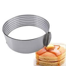 cercle de cuisine nouvelle réglable cercle rond gâteau mousse anneau cutter moule de