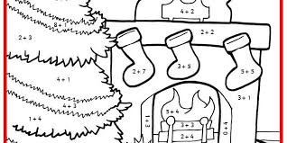 christmas colour by numbers maths classroom secrets