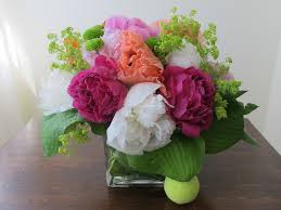 peony arrangement blackberry florist by grace lewicki summer peony arrangement