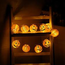Home Decoration Lights Online Buy Wholesale Pumpkin String Lights From China Pumpkin