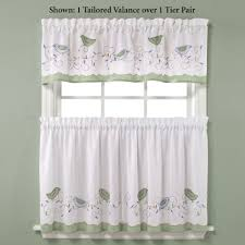 Jcpenney Grommet Drapes Kitchen Contemporary Cotton Cafe Curtains Bathroom Window