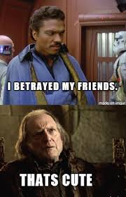 Lando Calrissian Meme - star wars vs game of thrones meme throwdown sith ari