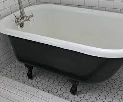 cheery black clawfoot bathtub bathroom or black cast iron clawfoot