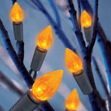 50 count string orange led light set walmart