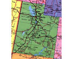 map usa utah maps of utah state collection of detailed maps of utah state