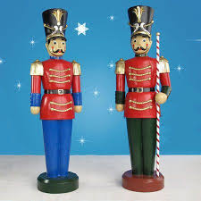 Life Size Christmas Decorations 64 Life Size Nutcracker Outdoor