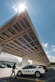 Car Carport Canopy Two Chevrolet Dealers Are Gm U0027s First To Get Solar Plug In Car