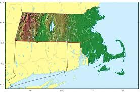 New York Relief Map by Where Is Massachusetts Massachusetts Maps U2022 Mapsof Net
