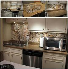how to make a backsplash in your kitchen diy mosaic back splash for your kitchen beesdiy