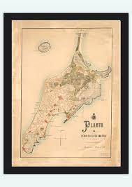 houston lata map map of macau macao 1885 china city maps