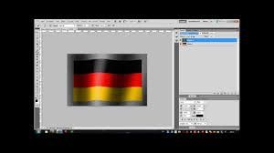 How To Draw A Waving Flag Photoshop Flagge Youtube