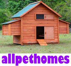 chicken coop large chook shed hen house g210 ebay