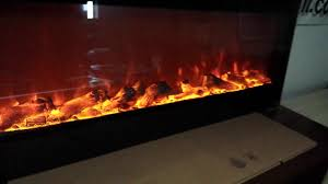 touchstone sideline electric fireplace demonstration youtube