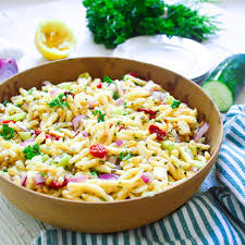 pasta salad with roasted tomatoes and mozzarella the lemon press