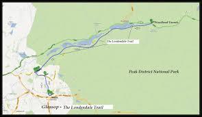 Ncr Trail Map Glossop U2013 U0027 The Longdendale Trail U0027 Cycle Routes Uk