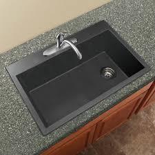 Granite Single Bowl Kitchen Sink Transolid Radius 33 X 22 Granite Single Bowl Drop In Kitchen