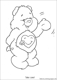care bears coloring 016 crafty 80 u0027s care bears coloring