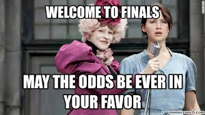 Meme Defined - finals week as defined by the hunger games finals week and meme