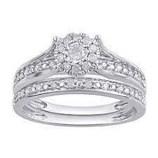 white gold bridal sets bridal sets white gold sears