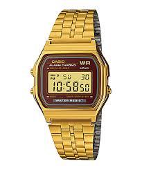 Jam Tangan Casio Gold casio digital a159wgea 5 gold jam tangan casio