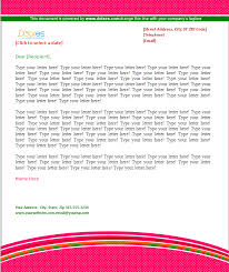 company letterhead pattern design dotxes