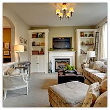 home decorating shows 2perfection decor built in bookshelves to flank fireplace last pic