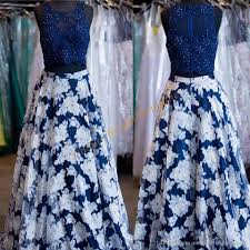 print floral prom dresses 2017 famous designer with crystals lace