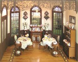 Dollhouse Dining Room Furniture by Miss Lydia U0027s Tea Room Class And Kit Oc Miss Lydia3 Cynthia