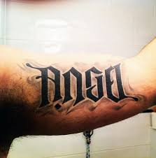 40 ambigram tattoos for word designs