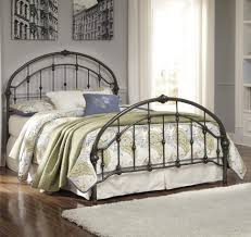 Metal Platform Bed Frame King Bedroom Black Iron Bed King Size Iron Bed King Metal Bed Metal