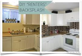 Cheap Backsplashes For Kitchens Kitchen Backsplashes Cheap Backsplash For Kitchen Easy Kitchen