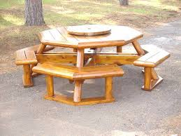 Octagon Patio Table Plans Design Ideas Picnic Table Plans Woodworking Pinterest Of