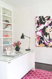 peek inside this glamorous home office office spaces workspaces
