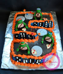 tmnt cake topper mutant turtles frosting cake tmnt cake toppe flickr