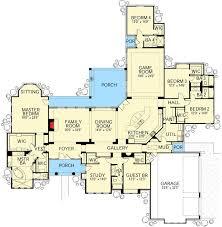 Home Floor Plans Mediterranean 305 Best Single Story Floor Plans Images On Pinterest House