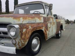 1957 ford f100 farm truck short bed w nice patina for sale in el