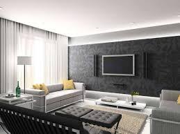 Zen Decor by Zen Decoration For Modern Living Room Design With Black Wallpaper