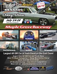 menards price match maple grove raceway 2017 menards chevy show july 14 16