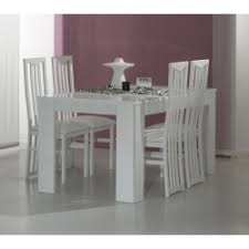 Contemporary White Dining Room Sets - white dining tables modern dining table modern furniture bay