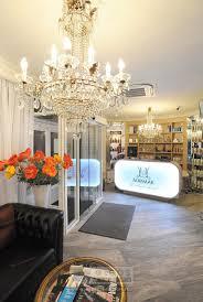 contemporary nail salon interior design