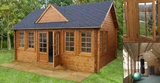 little garden log cabin kit for 5 000 living off the grid